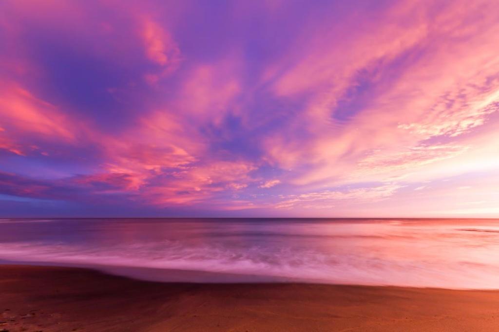 Bells Beach au lever du soleil