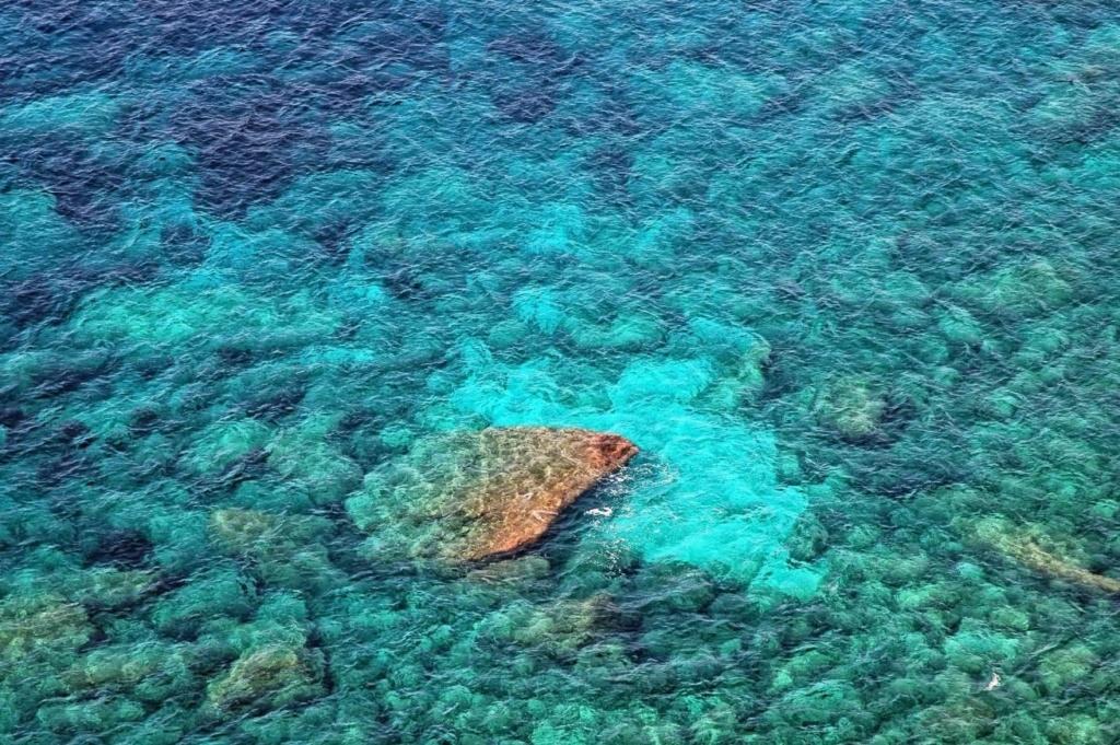 eau de mer claire île Turquoise