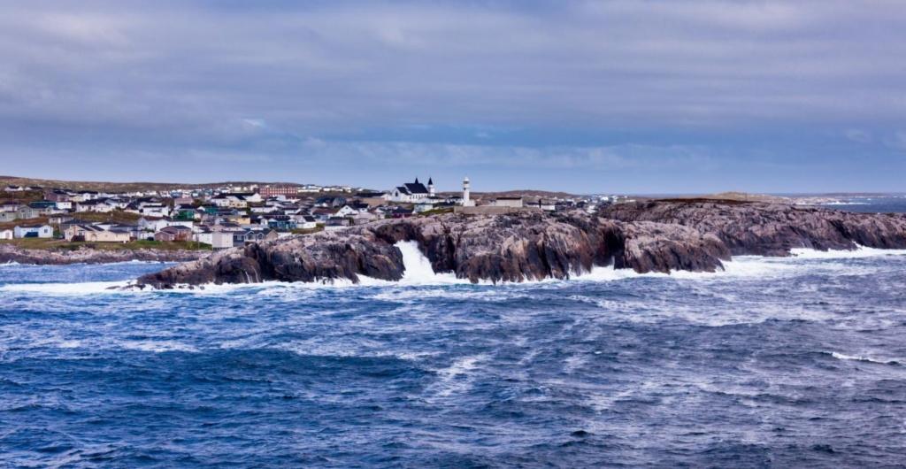 Ville de Port-aux-Basques de Terre-Neuve-et-Labrador Canada