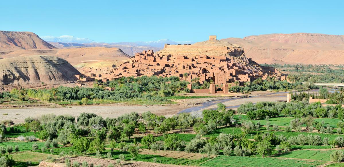 Ait-Ben-Haddou Kasbah au Maroc