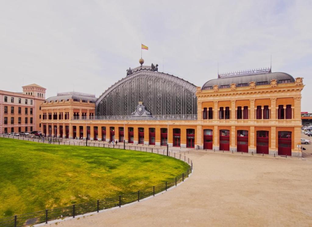 Gare d'Atocha dans Madrid