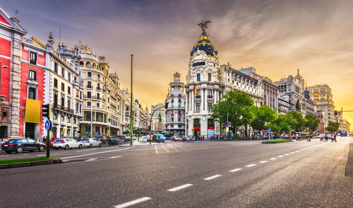 Grand via Madrid