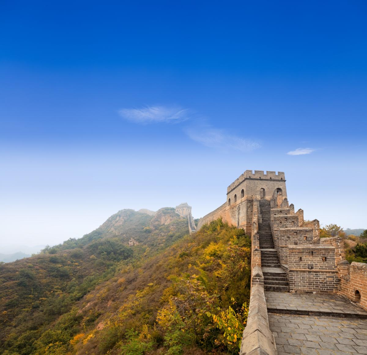 Grande Muraille de Chine à la section Jinshanling
