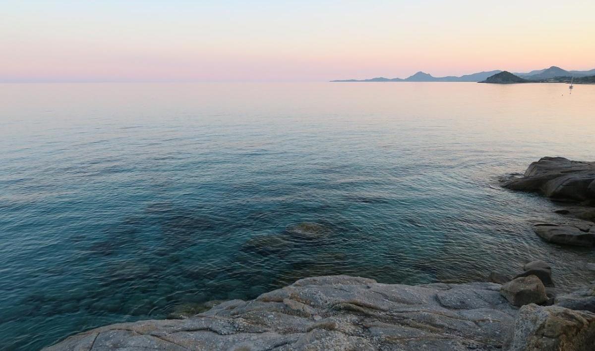 La côte rocheuse de Sardaigne