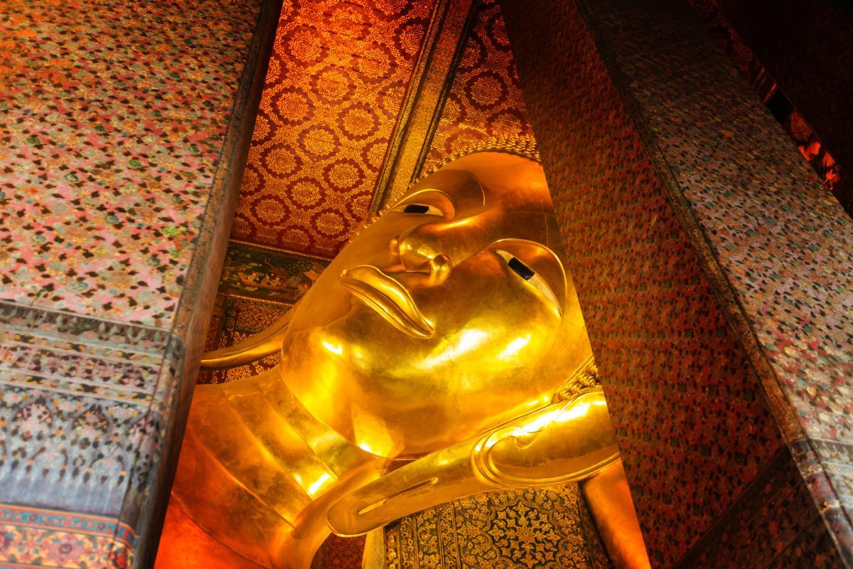 Le Bouddha couché Wat Pho Bangkok