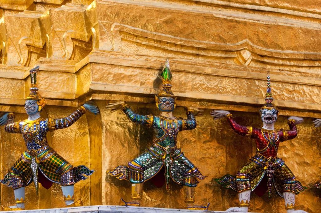 Le Grand Palais, Bangkok, Thaïlande