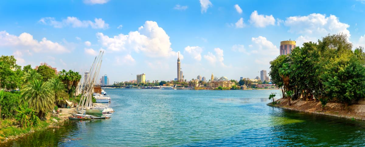 Le Nil et Le Caire