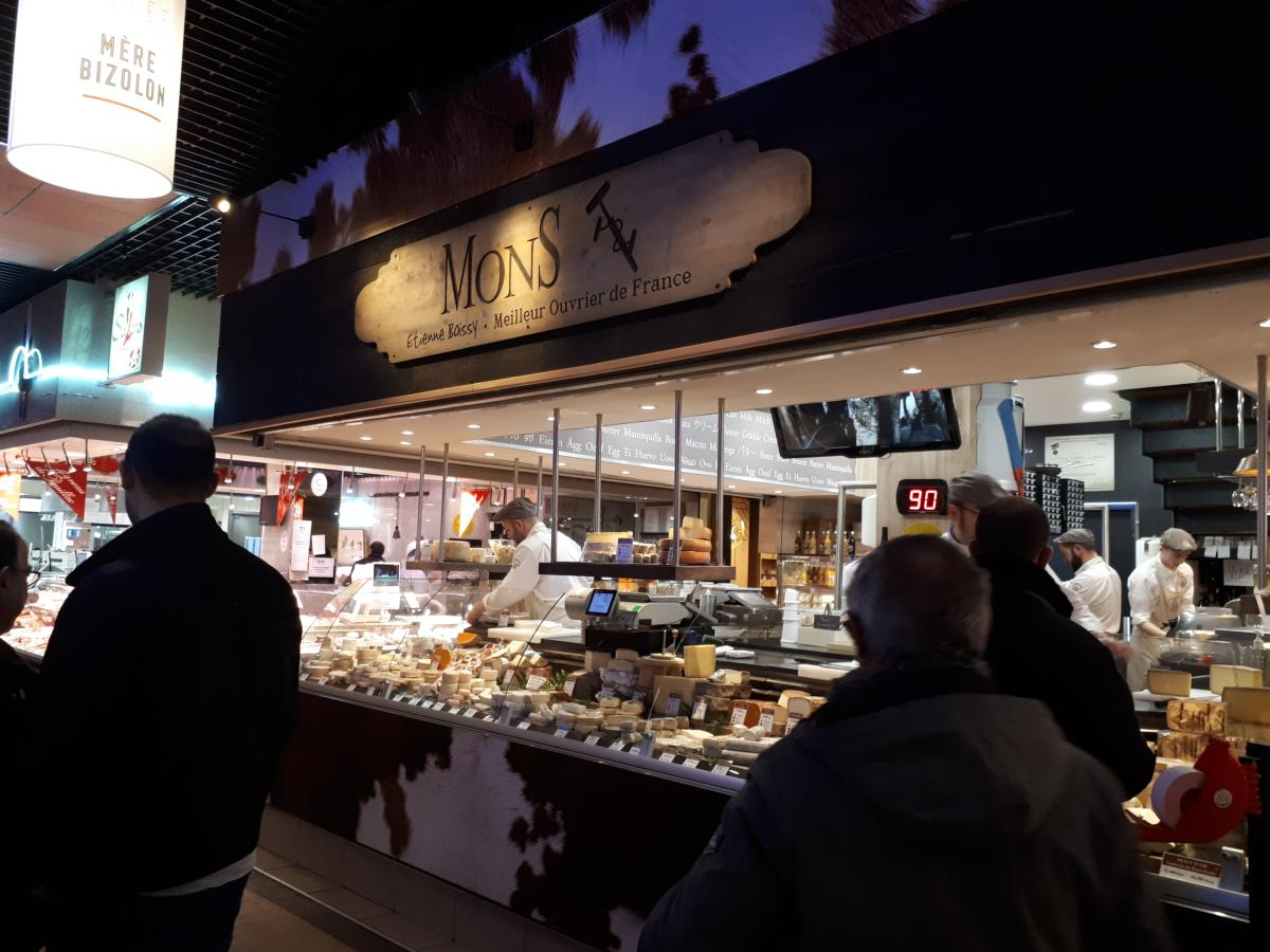 Le fromager Mons de Lyon