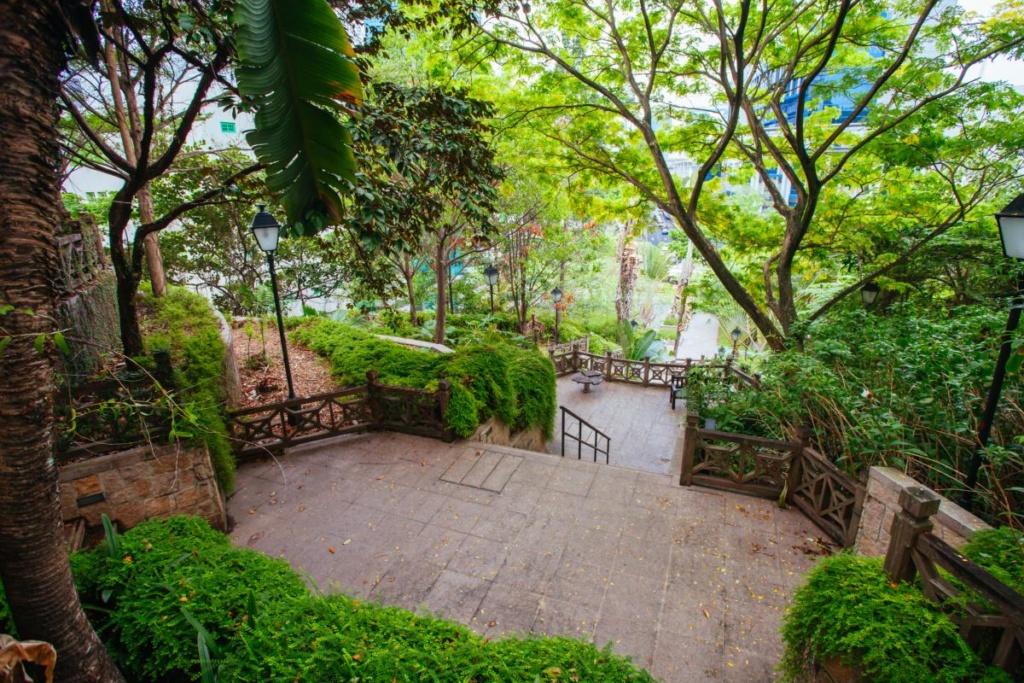 Le parc Fort Canning à Singapour