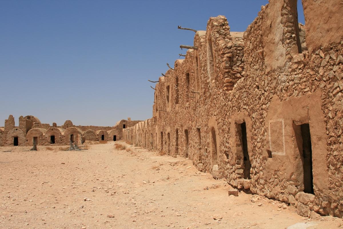 Les ruine de Matmata