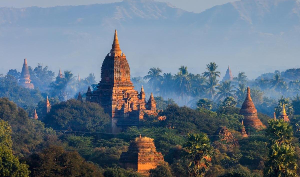 Les temples de Bagan, Myanmar