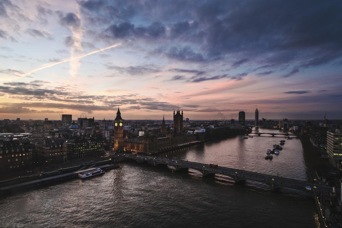 Londre au crépuscule