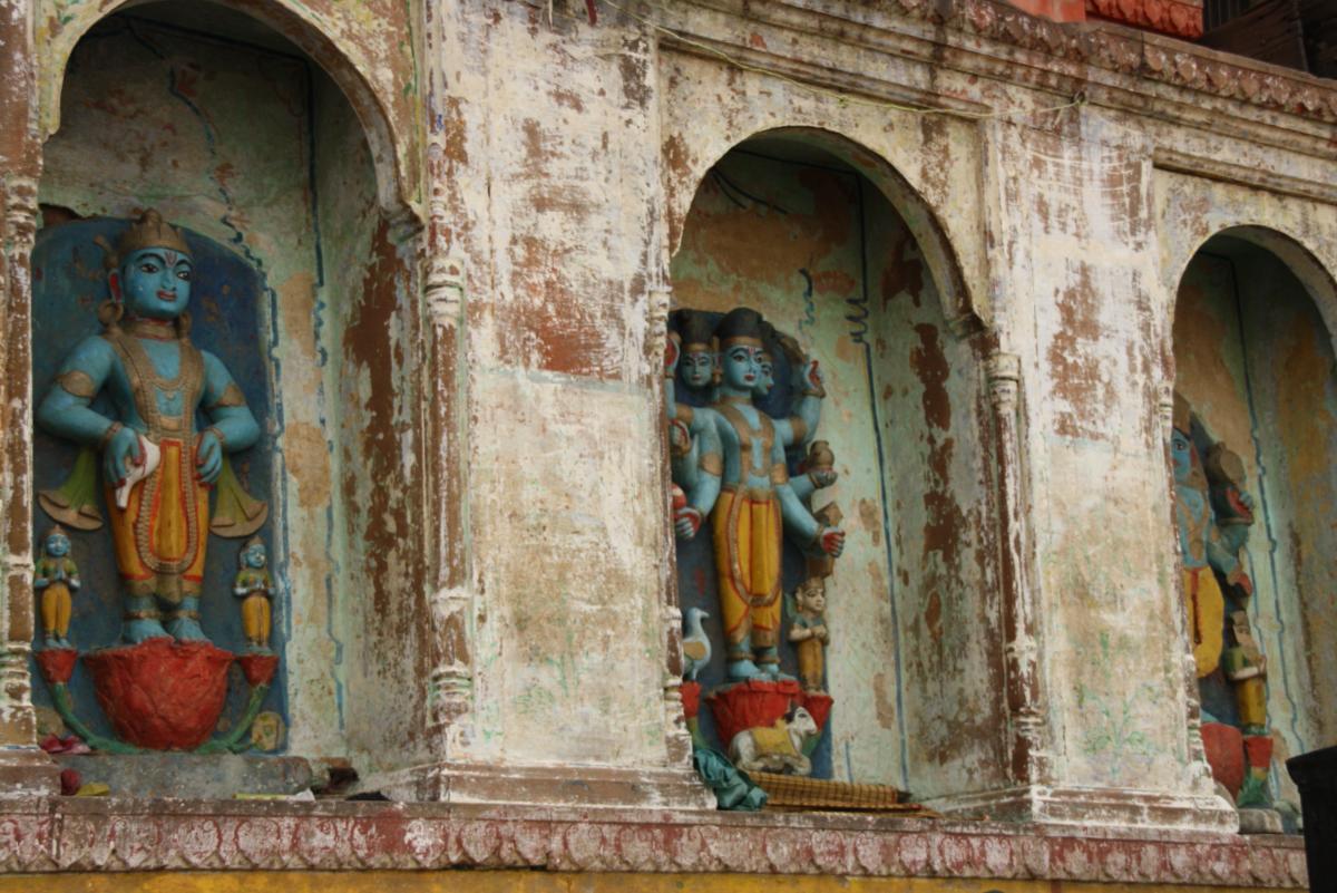 Mur de la vieille ville de Varanasi