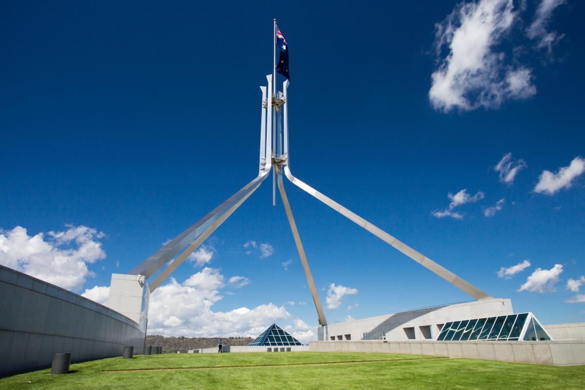 Parlement d'Australie a Canberra