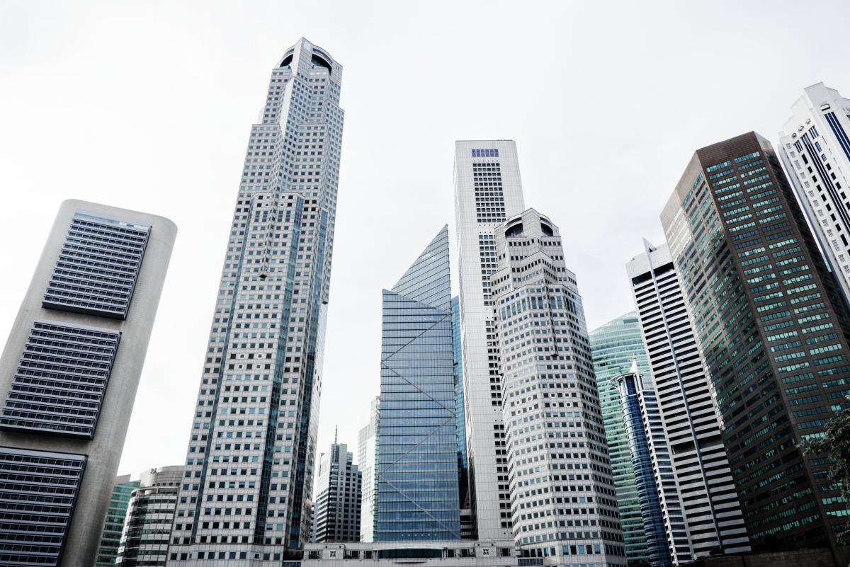 Paysage urbain de Singapour