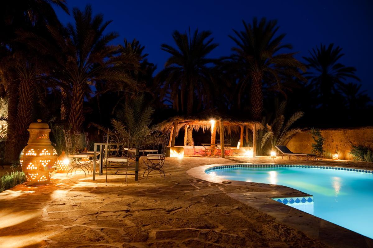 Piscine dans un hotel de Marrakesh