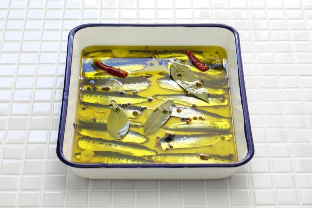 anchois marinés ou boquerones