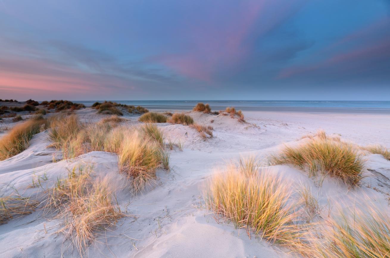 la plage de la presqu'île d'Arvert