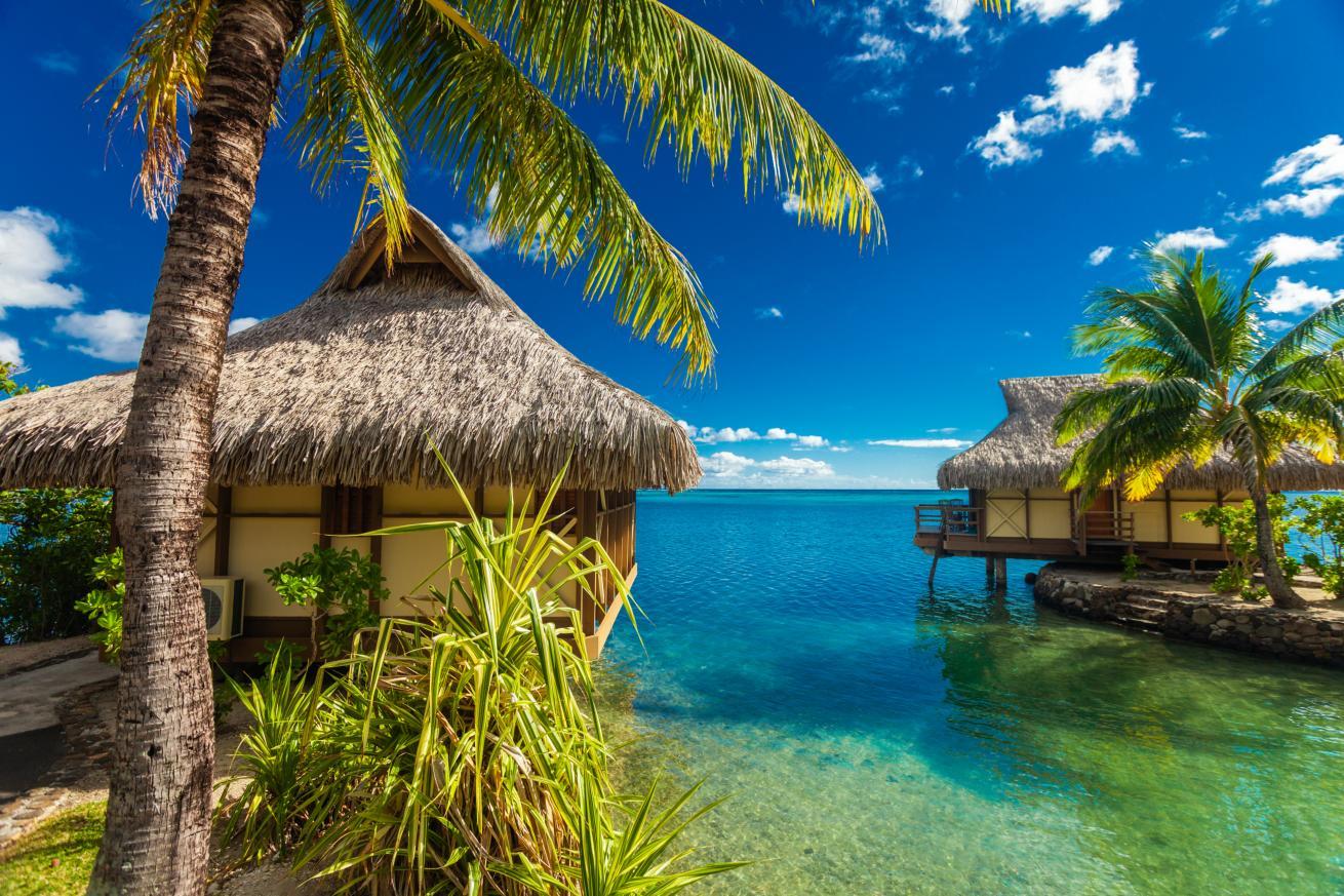 lagune Moorea, Polynésie française