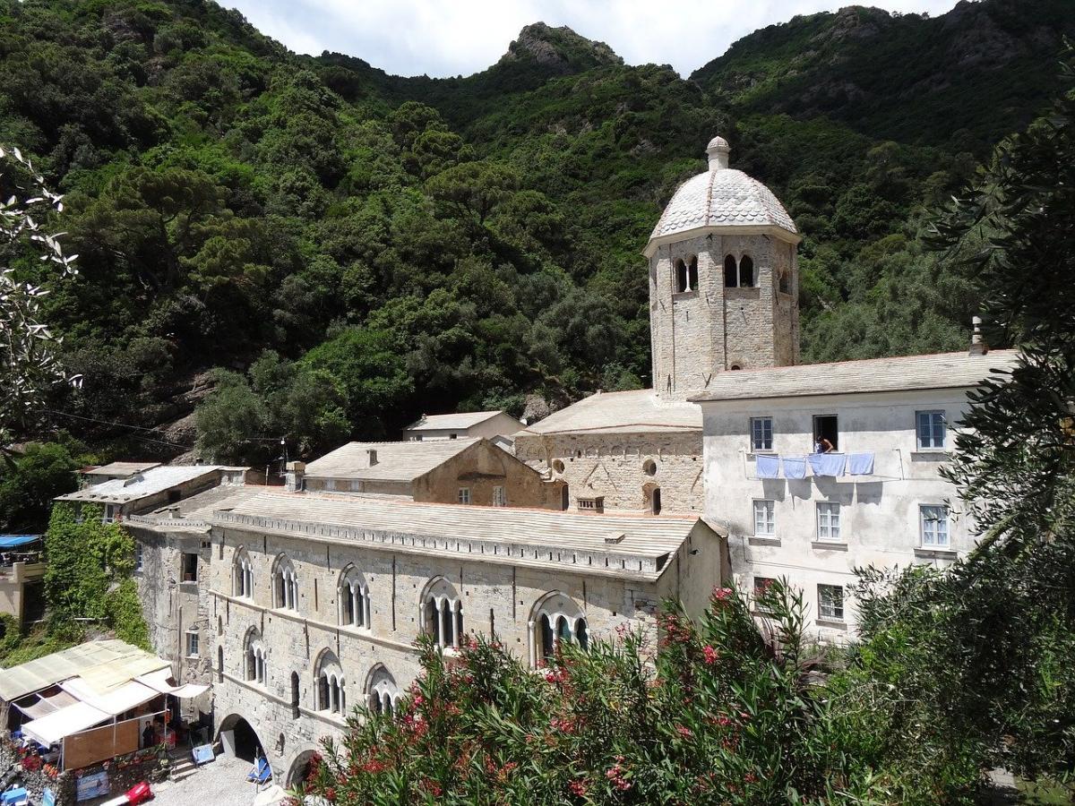 Monastère de San Fruttuoso Ligurie Italie