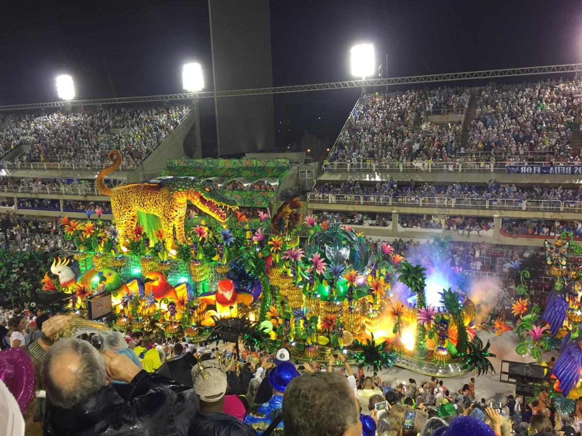 Parade de Samba, Carnaval, Rio de Janeiro