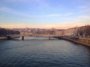 Paysage urbain de Lyon