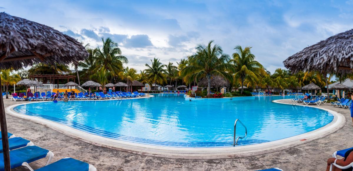 Piscine de l'hotel Cayo Santa Maria, Cuba