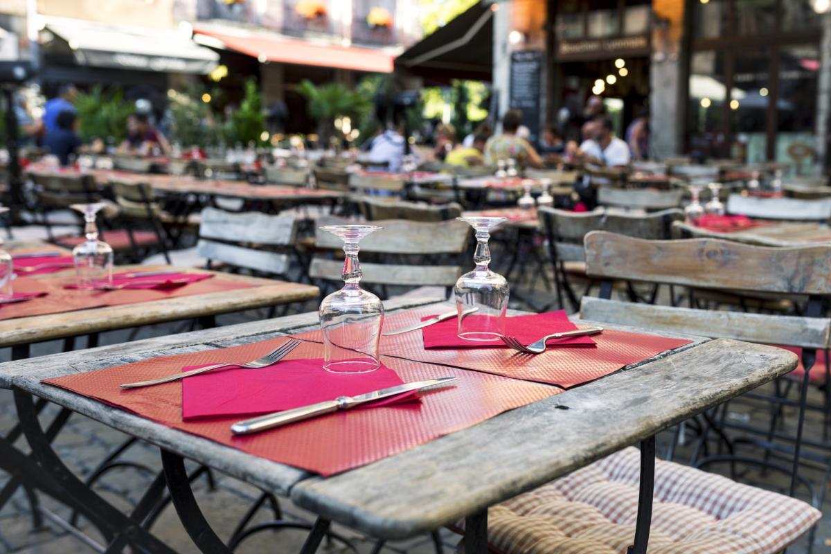 Tables de restaurant à Lyon