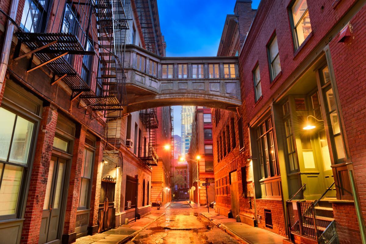 Tribeca Alley à New York