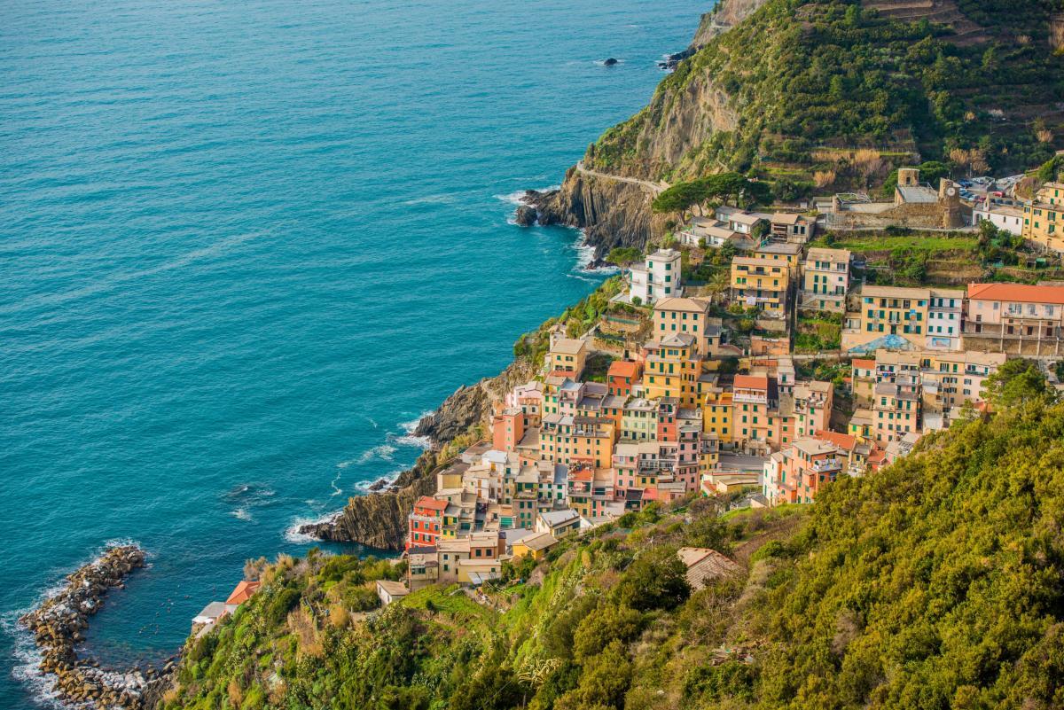 Village de Riomaggiore Ligura Italie