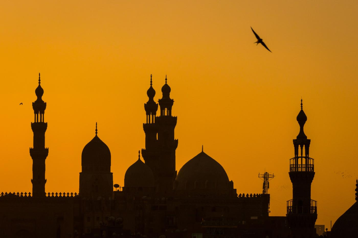 La mosquée du Caire