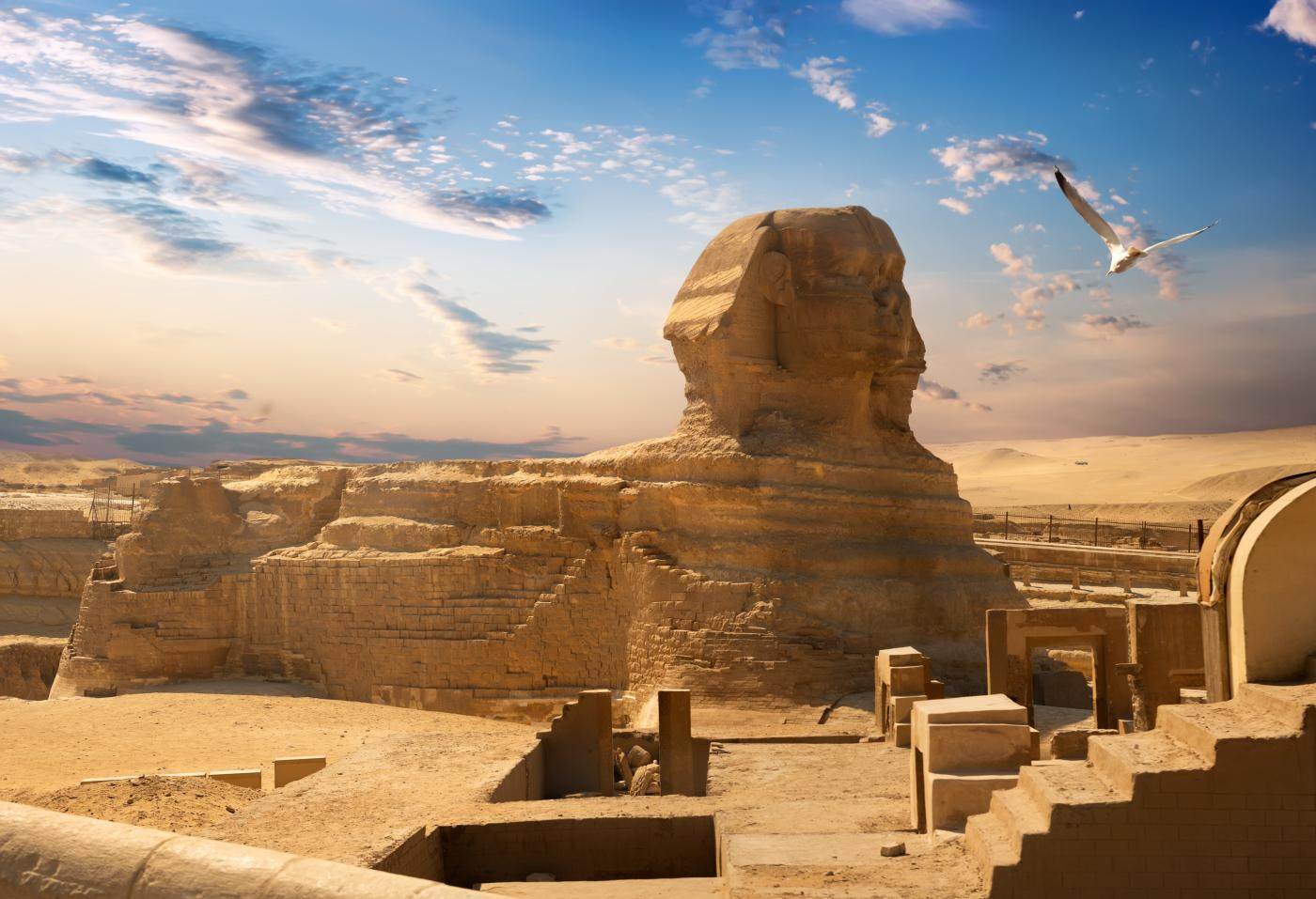 Le Grand Sphinx de Gizeh
